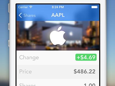 Shares 2 shares ios iphone