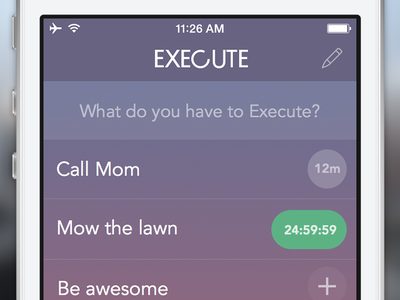 Execute for iOS execute ios learn gradient sketch