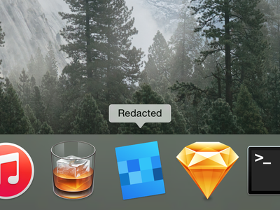 Redacted Mac Icon
