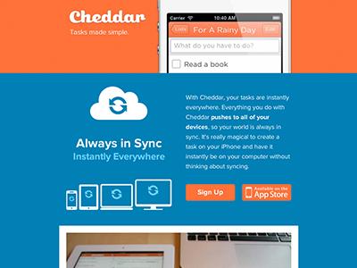 Announcing Cheddar cheddar ios ipad gotham web