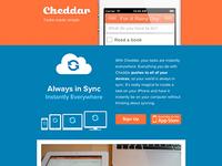 Announcing Cheddar