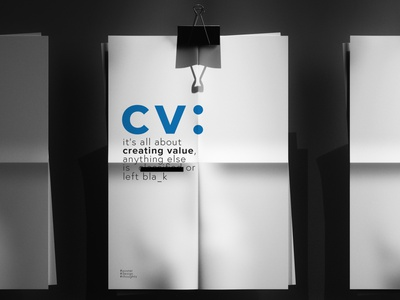 Creative Value value creative design illustration cv