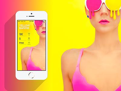 Mobile Shop 2 mobile app shop ios7 colors