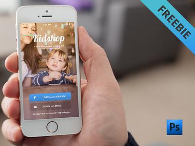 App Login Freebie - free .psd download login signin form design app iphone app login freebie photoshop psd