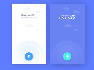 Voice Weather