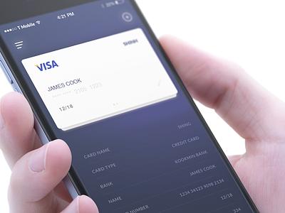 Spend App Concept wallet spend spendwallet iot iphone ui card bank payment app
