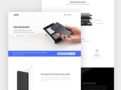 Spendwallet Website webpage design webdesign payment spend spendwallet