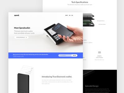 Spendwallet Website