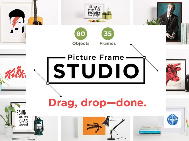 Picture Frame Studio Pack By Simon Stratford Dribbble