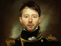 Thom Yorke Oil Painting