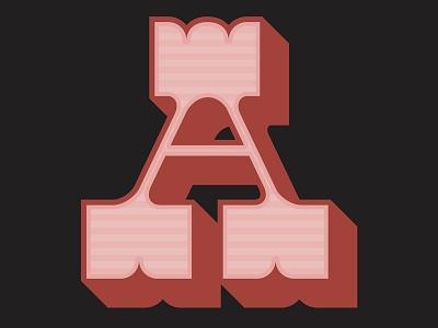 Circus Freak slab retro typeface handmade font