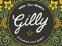 Gilly Script Font