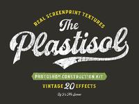 Plastisol Vintage Effects