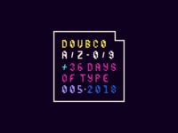 Doub.co x 36 Days of Type