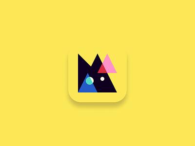 Manic App Icon app icon pattern logo doubco