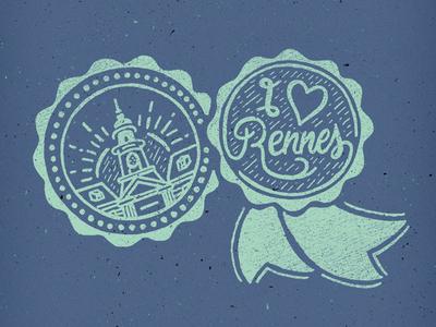 // I Love Rennes //