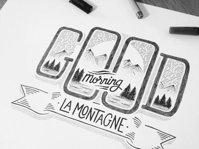 // Artwork Arnacoeur Good Morning La Montagne //