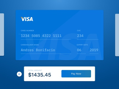 Daily UI 002 - Checkout dailyui payment credit card checkout