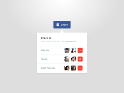Day 010 - Social Share ui button social button share button dailyui social media share