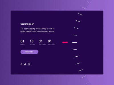 Daily UI 014 - Countdown Timer progress countdown timer ui app dailyui timer countdown