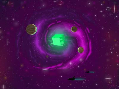 yin yang galaxy