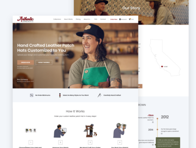 Company Branding and Site Redesign