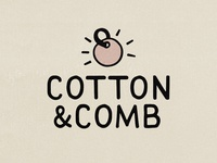 Cotton & Comb - handmade logo