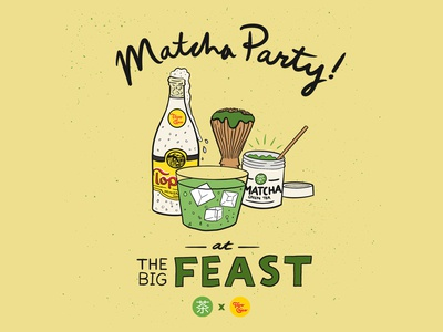 Mizuba Tea x Topo Chico at Feast Portland