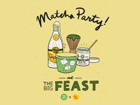 Mizuba Tea x Topo Chico at Feast Portland type illustrator lettering typography illustration design