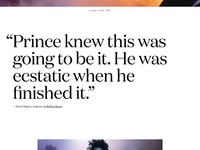 Official Prince Discography Website