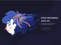 Stop dreaming just go
