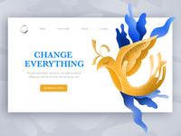 Change Everything web design