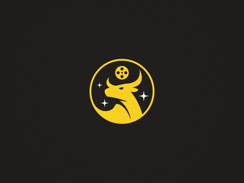 HAVEN INTERNATIONAL SHORT FILM FESTIVAL design festival movie short film cinema bull film festival film logo design brand identity vector graphics logo
