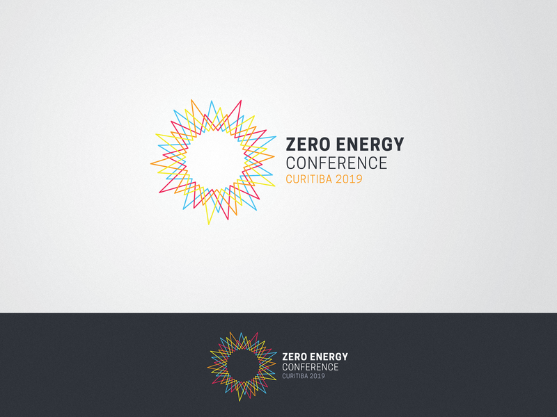 ZERO ENERGY CONFERENCE 2019 zerowaste zero sustainability sustainable sun solar energy renewable renewable energy nature green energy environment logo design identity logo design conference