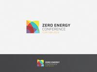 ZERO ENERGY CONFERENCE 2019 zero waste zero solar energy solar panel sustainability sustainable renewable energy renewable nature green environment energy conference design logo design identity logo