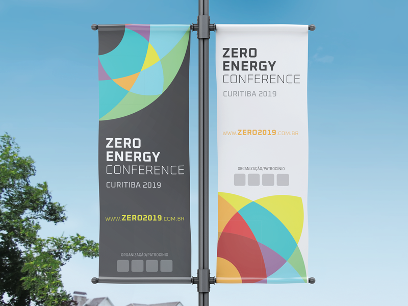 ZERO ENERGY CONFERENCE 2019 zero waste zero sustainability sustainable sun solar panel solar energy solar renewable energy renewable nature environment green conference energy logo design identity logo design