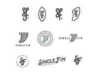 Single Fin logo alternatives