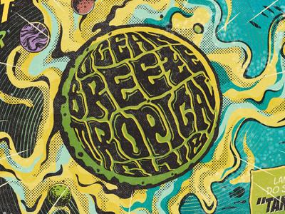 Cover Artwork - Ocean Breeze Tropical Club