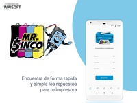 Mrsinco App design