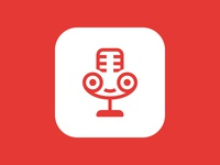 call recorcer app icon concept