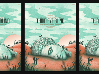 third eye blind south carolina we lost statue  n stuff bird gig poster third eye blind