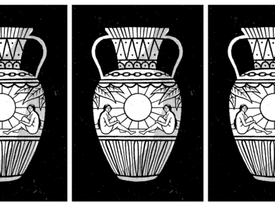 vase is the place artifact cool sun ladies vase drawing illustration