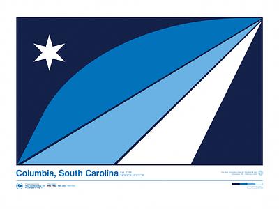 cola flag vexillology flag design flag south carolina columbia columbia sc