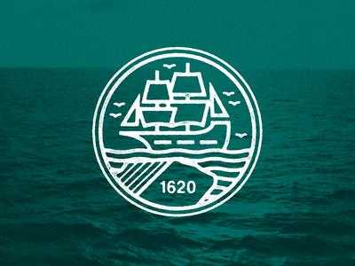 December 21, 1620 daily history pilgrims plymouth rock illustration icon mayflower