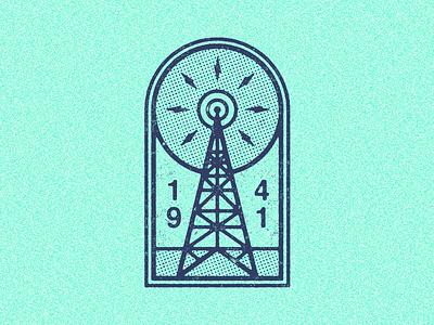 March 1, 1941 daily history illustration icon brodcast signal fm antenna radio