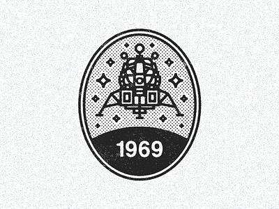 July 19, 1969  daily history illustration icon exploration space nasa lunar lander apollo moon apollo 11