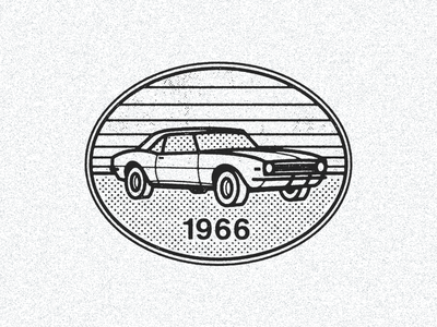 September 29, 1966 daily history illustration icon muscle car chevy camaro