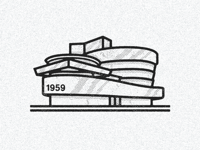 October 21, 1959 daily history illustration icon nyc frank lloyd wright museum architecture guggenheim