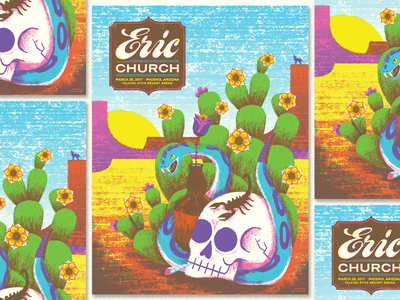 Eric Church Phoenix tough as shit booze snake cactus desert country music eric church