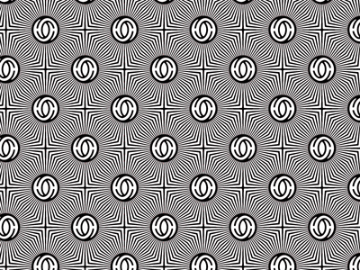 security pt 1 self promo half and half security pattern op art pattern